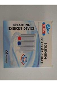 Triflo Solunum Egzersiz Cihazı 3 Top Üfleme Topu Nefes Egzersizi 2 Yönlü Kullanılabilir