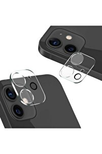 Iphone 12 Tempered Cam Kamera Lens Koruyucu