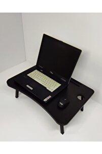 Laptop Masası Yonga Levha Siyah
