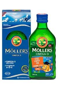 Möllers Omega3 Balık Yağı Şurup 250 ml