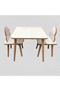 Yaz-sil Yüzey Ahşap Çocuk Masa Sandalye Takımı-çocuk Oyun Masası-aktivite Masası-çalışma Masası