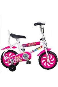 Klas 12 Jant Çocuk Bisikleti Dolgu Teker 2-3-4 Yaş Çocuk Bisikleti Pembe Klas12pembe