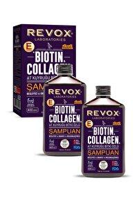 Biotin Ve Collagen - At Kuyruğu Bitki Özlü Şampuan 2'li Set