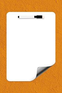 Easyboard Manyetik Katlanabilir Beyaz Tahta - A4 (21cm X 29.7cm)
