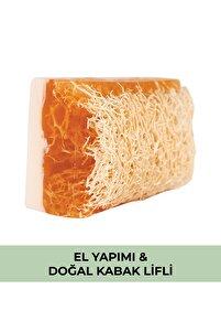 Doğal Kabak Lifli Ballı Sütlü Sabun
