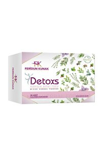 Detoxs Karışık Bitki Tozu - 30 Adet Detoks Çayı Bitkisel Karışım