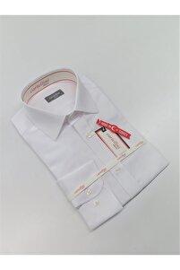 Beyaz Uzun Kol Gömlek Ukc0001.45