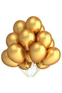 12 Inç Metalik Gold Balon 10'lu