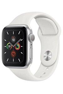 Watch 1 2 3 4 5 6 Se 44 Mm Silikon Ayarlanabilir Kordon Beyaz + Popsocket