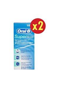 Super Floss Diş İpi 50 Adet x 2