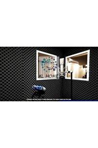 25mm 50*50cm Akustik Yumurta Sünger Ses Yalıtımı Ev-ofis-stüdyo Akustik Izolasyon Malzemesi (1 ADET)