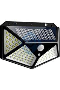 100 Led Dış Mekan Solar Aydınlatma Fotoselli Solar Lamba Hareket Sensörlü Güneş Enerjili Lamba
