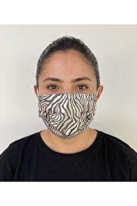 10 Adet Desenli Baskılı Maske
