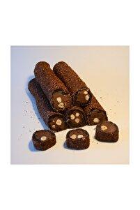 Çikolatalı Fındıklı Browni Sarma Lokum 500 Gr
