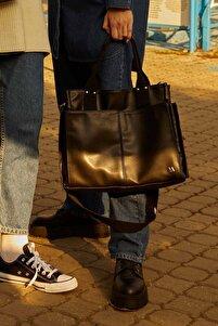 Deri Everyday Bag Siyah