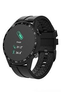 Smart Watch Unisex Siyah Türkçe Menü Akıllı Saat
