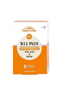 Newlife B12 Plus 60 Tablet Gıda Takviyesi