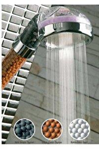 Boncuklu Su Tasarruflu Kireç Önleyici Duş Başlığı