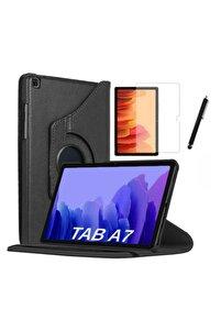 Galaxy Tab A7 Sm T500 T505 T507 Uyumlu Dönebilen Tablet Kılıfı + Ekran Koruyucu + Kalem 10.4 Inç