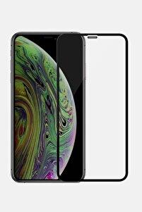 Iphone 11 Siyah Tam - Full Kaplayan Temperli Cam Ekran Koruyucu