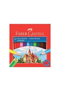 Karton Kutu Boya Kalemi 12 Renk Yarım Boy