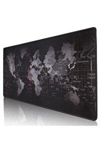 Mouse Pad Dünya Haritalı 90x40 Cm.