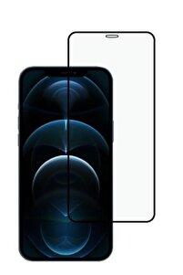 Roaks Apple Iphone 12 Pro Max 5d Tam Kaplayan Kırılmaz Ekran Koruyucu Full Cam