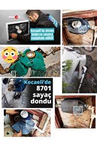 Ev Su Saati Sayaca Kar- Dona ( Donmaya ) Karşı Koruma Isı Ceketi Izolasyon Ev Su Saati