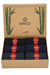 Bambu Mevsimlik Premium 6'lı Set (2 Siyah, 2 Lacivert, 2 Füme)
