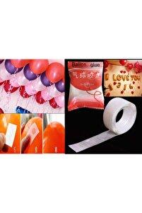Balon Yapıştırma Bandı Çift Taraflı 100 Adet