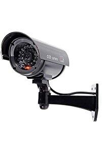 Gece Görüşlü Pilli ve Ledli Caydırıcı Sahte Güvenlik Kamerası