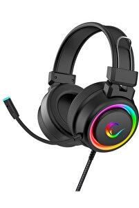 Alquist Sn-r10 Siyah 3,5mm Rgb Gaming Oyuncu Mikrofonlu Kulaklık