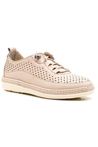 Kadın Bej Deri Ayakkabı