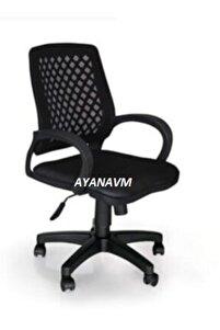 Sers Büro Ofis Çalışma Koltuğu-siyah Bilgisayar Sandalyesi