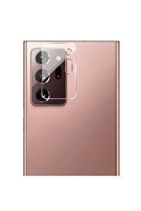 Samsung Galaxy Note 20 Ultra Kamera Lens Koruma Camı