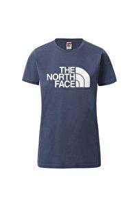 W S/s Easy Tee Kadın Lacivert Tshirt Nf0a4t1qwc41