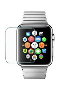 Apple Watch 38mm Seri 1-2-3-4 Ekran Koruyucu Blue Nano Temperli Kırılmaz  Cam