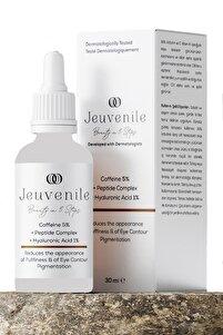 Caffeine %5 + Peptide Complex + Hyaluronic Acid %1 Göz Altı Torbası Ve Morluk Serumu 30 Ml