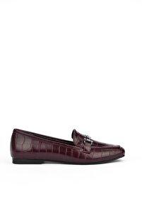 Kadın Bordo Ayakkabı 103360 2002