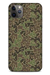 Kamuflaj 92 Apple Iphone 11 Pro Max Kılıf Silikon Kapak