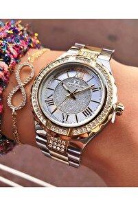 Kadın Altın Renk Kol Saati