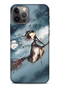 Y.liva-2021 Özel Seri Cadılı Apple Iphone 12 Pro Kılıf Silikon Kapak