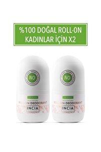 Doğal Roll-on Deodorant For Women 50 ml X 2