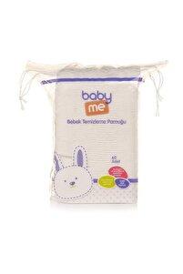 Bebek Temizleme Pamuğu 60 Adet Bae-20017