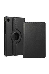 Matepad T10 Kılıf 360°dönebilen Deri Leather New Style Cover Case(siyah)