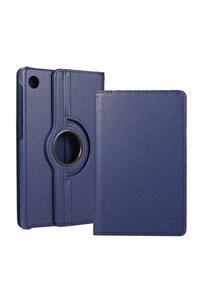 Matepad T10 Kılıf 360°dönebilen Deri Leather New Style Cover Case(lacivert)