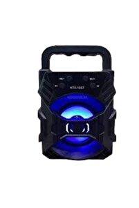 Teknolojigelsin Ktx 1057 Işıklı Bluetooth Hoparlör Taşınabilir Kablosuz Ses Bombası Speaker