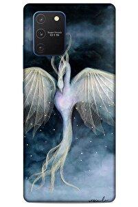 Y.liva-2020 (anka Kuşu) Samsung Galaxy S10 Lite Kılıf Silikon Kapak Desenli