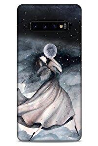 Y.liva-2020 (diriliş) Samsung Galaxy S10 Plus Kılıf Silikon Kapak Desenli