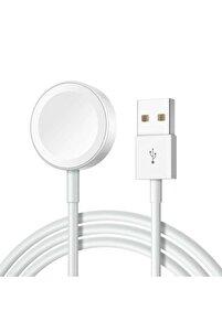 Apple Watch Seri 1/2/3/4/5/6 Manyetik Usb Şarj Kablosu Aleti Hızlı Şarj